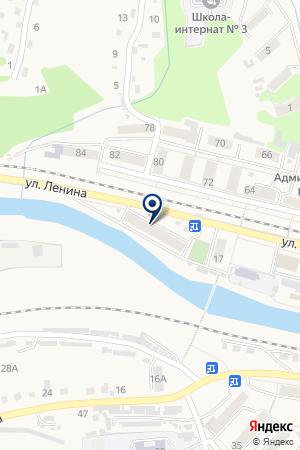 ГУ ПОЖАРНАЯ ЧАСТЬ ОГПС-15 на карте Таштагола