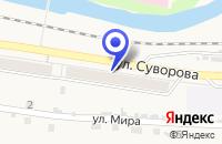 Схема проезда до компании МАГАЗИН МЕБЕЛЬ в Таштаголе