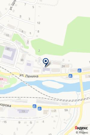МУК ШКОЛА № 27 на карте Таштагола