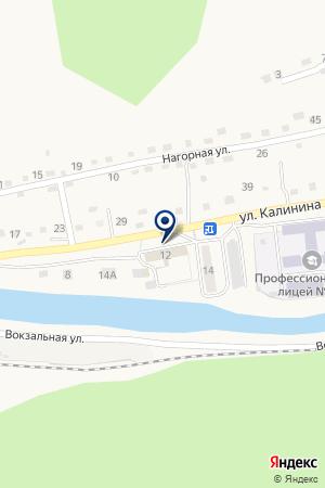 ГОУ ПРОФЛИЦЕЙ №39 на карте Таштагола