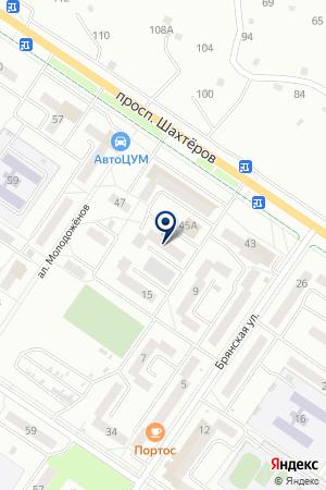 СТРОИТЕЛЬНАЯ КОМПАНИЯ СТУНУЛ на карте Междуреченска