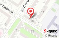 Схема проезда до компании МАГАЗИН № 16 в Междуреченске