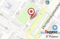 Схема проезда до компании ПТФ ВАВИЛОВ А.Н в Междуреченске