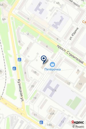 СТРАХОВАЯ КОМПАНИЯ РОСГОССТРАХ-СИБИРЬ на карте Междуреченска