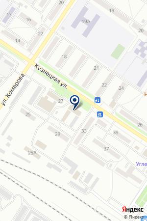 МУП ДИСПЕТЧЕРСКАЯ АВАРИЙНО РЕМОНТНАЯ СЛУЖБА НАДЕЖДА на карте Междуреченска