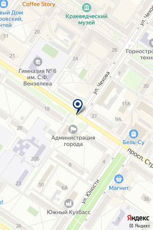 ПКП УСПЕХ на карте Междуреченска