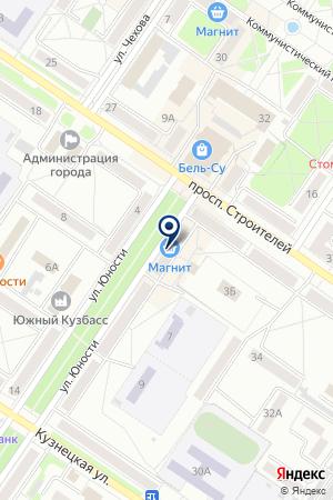 ПТФ ФОНЯКИН В.Б. на карте Междуреченска