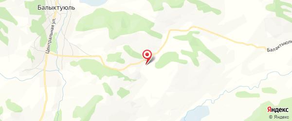 Пазырыкские курганы на карте