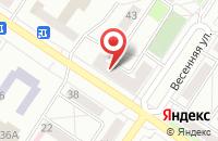 Схема проезда до компании МУП ГОРВОДОКАНАЛ в Междуреченске