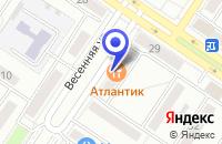 Схема проезда до компании БАР АТЛАНТИК в Междуреченске