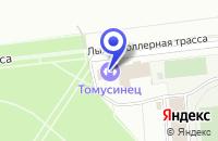 Схема проезда до компании СПОРТИВНАЯ ШКОЛА СДЮШОР в Междуреченске