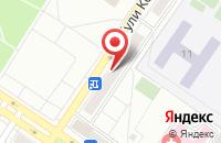 Схема проезда до компании СТРОИТЕЛЬНАЯ КОМПАНИЯ ФОРТ в Междуреченске