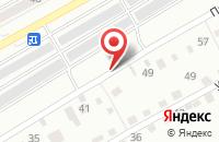 Схема проезда до компании АГЕНТСТВО НЕДВИЖИМОСТИ ПЕТРУХИН В.И в Междуреченске
