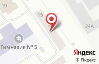 Схема проезда до компании Витязь в Норильске