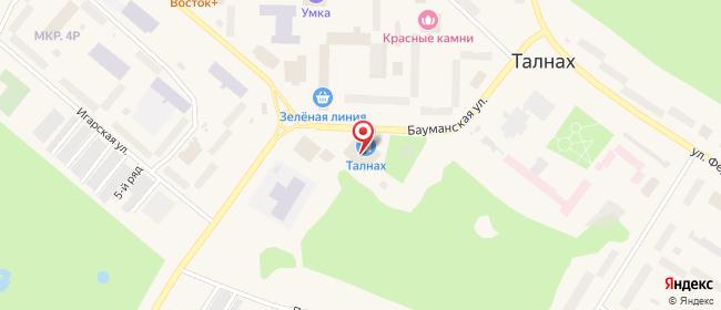 Карта расположения пункта доставки Westfalika в городе Норильск