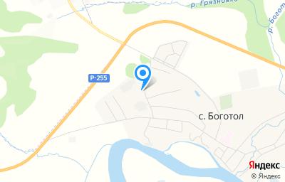 Местоположение на карте пункта техосмотра по адресу Красноярский край, Боготольский р-н, с Боготол, ул Целинная, стр 15