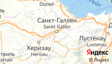 Отели города Санкт-Галлен на карте