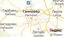 Отели города Ганновер на карте