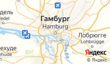 Отели города Гамбург на карте