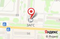 Схема проезда до компании Альянсавто в Назарово