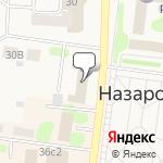 Магазин салютов Назарово- расположение пункта самовывоза