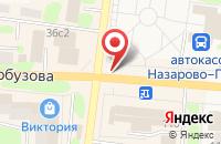 Схема проезда до компании Арго в Назарово