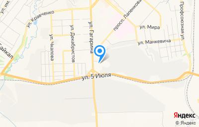 Местоположение на карте пункта техосмотра по адресу Красноярский край, г Ачинск, ул Гагарина, д 3Б