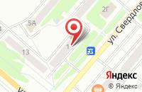 Схема проезда до компании Белая Ворона-Плюс в Ачинске