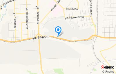 Местоположение на карте пункта техосмотра по адресу Красноярский край, г Ачинск, ул 5 Июля, зд 5