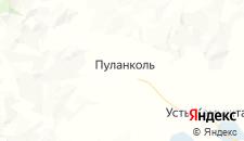Отели города Пуланколь на карте