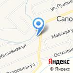 Администрация Сапоговского сельсовета на карте Абакана