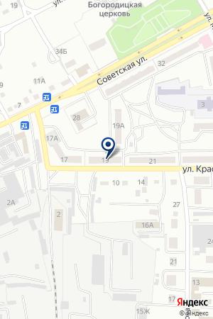 БАНК НАВИГАТОР на карте Черногорска