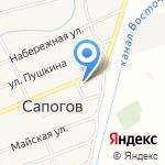 Сапоговская средняя общеобразовательная школа с дошкольным отделением на карте Абакана