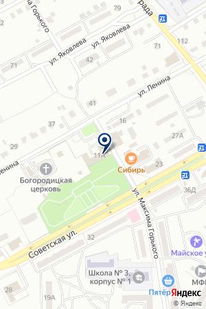 КОНСАЛТИНГОВАЯ ФИРМА БИЗНЕС КОНСАЛТ на карте Черногорска