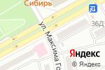 Схема проезда до компании Западный в Черногорске