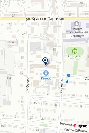 МАГАЗИН СТРОЙМАТЕРИАЛЫ на карте Черногорска