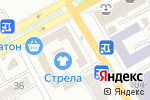 Схема проезда до компании Пятница в Черногорске