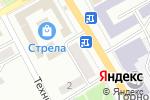 Схема проезда до компании Иж-центр в Черногорске
