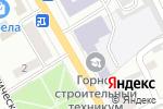 Схема проезда до компании Избирательный участок №142 в Черногорске