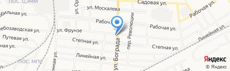 Почтовое отделение №3 на карте Черногорска