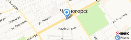 Стиль на карте Черногорска