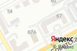 Схема проезда до компании Линия офиса в Черногорске