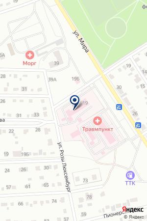 МАГАЗИН АВТОЗАПЧАСТЕЙ ЗОЛОТЫХ В.А. на карте Черногорска