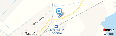 Шиномонтажная мастерская на автодороге Абакан-Сорск 19 км на карте Ташеб