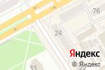 Схема проезда до компании Пивная точка в Черногорске
