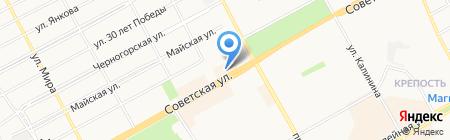 Банкомат КБ Кедр на карте Черногорска