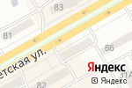 Схема проезда до компании Магазин мясной продукции в Черногорске