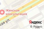 Схема проезда до компании Мир Дверей в Черногорске