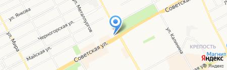 Фунтик на карте Черногорска
