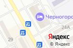 Схема проезда до компании БосФор в Черногорске
